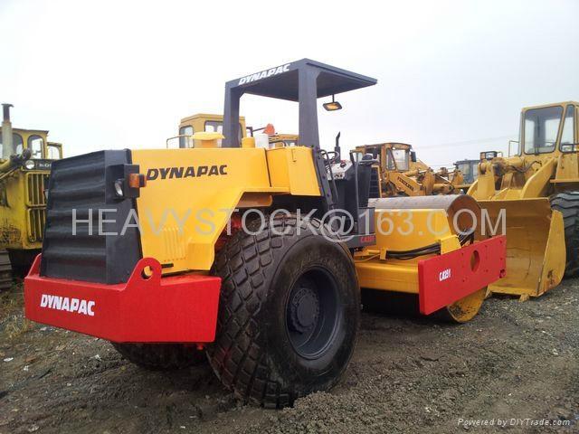 DYNAPAC ROAD ROLLER COMPACTOR CA251  2