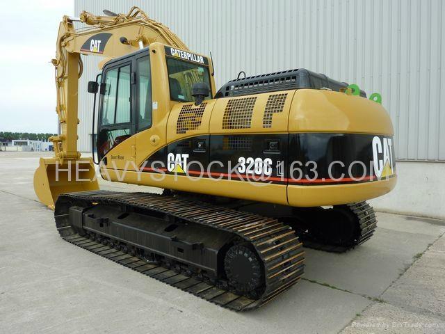 CAT EXCAVATOR 320C 2