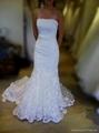 superior elegant unique lace mermaid wedding dress 2013 ... Lace Mermaid Wedding Dress 2013