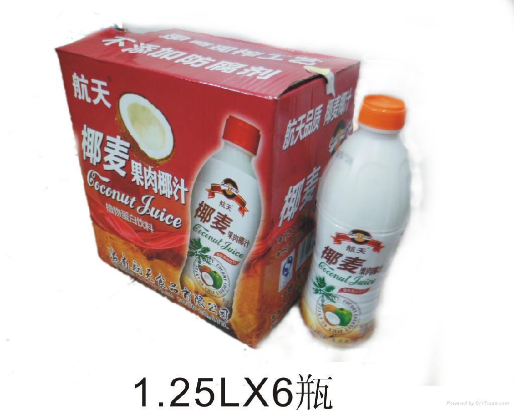椰麦果肉椰汁 1