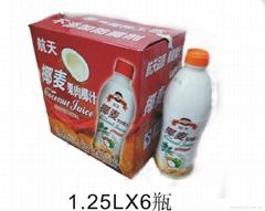 椰麥果肉椰汁