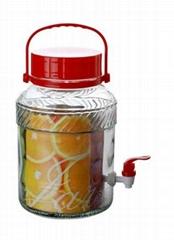 清瓶乐玻璃梅酒瓶