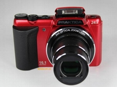 New Digital cameras PRAKTICA luxmedia 16-Z24S (Red)