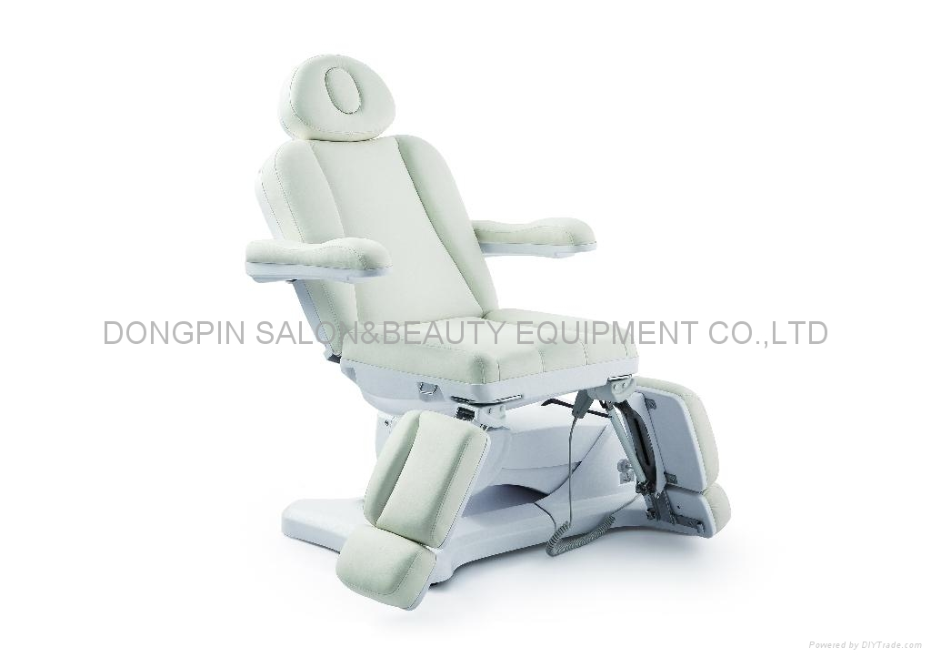 Multifunctional electric massage table beauty facial bed with three motors(CE) 2