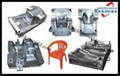 Commodity plastic injection chair mould,arm chair mould