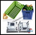Plastic basket mould,portable basket