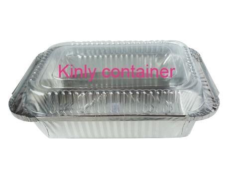 Rectangular Aluminium Foil Containers 2