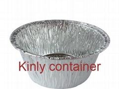 small round 150ml bakery aluminium foil container