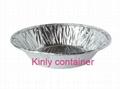 small round 85ml bakery aluminium foil