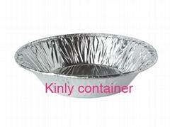 small round 85ml bakery aluminium foil container