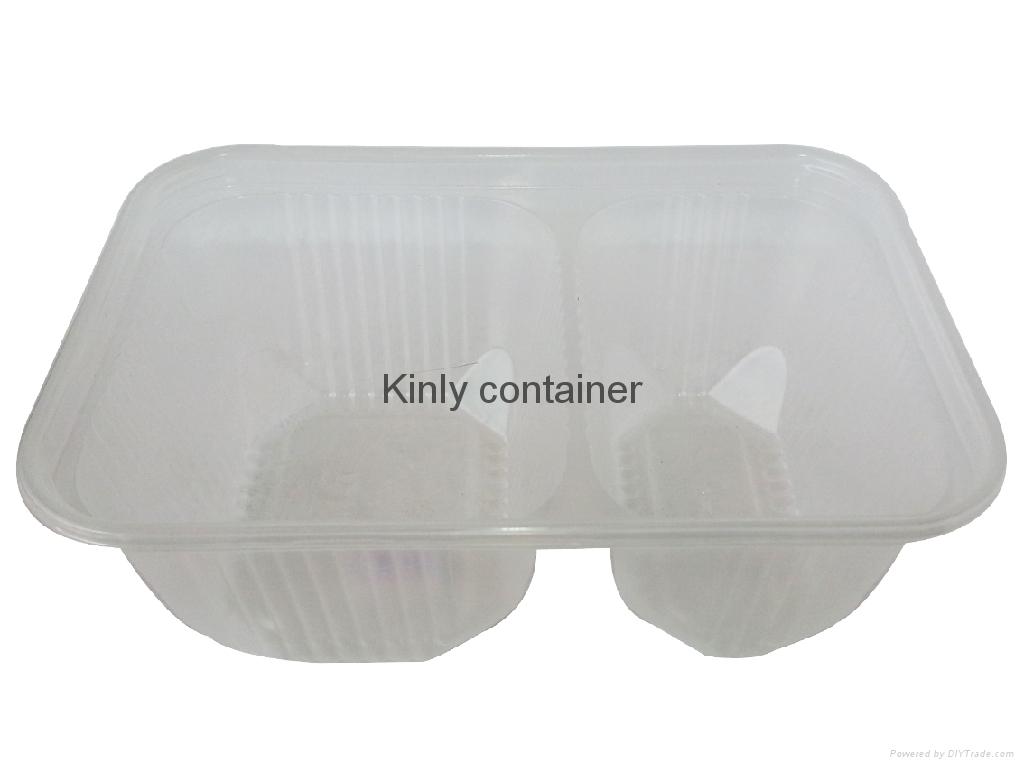 microwaveable  filp  box-2  compartments 2