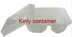 microwaveable  filp  box-2  compartments