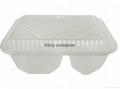 microwaveable  filp  box-2  compartments 3