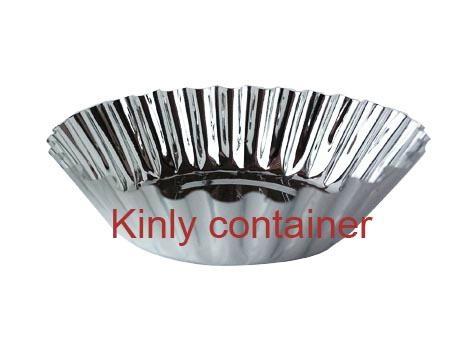 small round bakery aluminium foil container 1