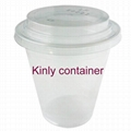 16oz Clear Plastic Cup 1
