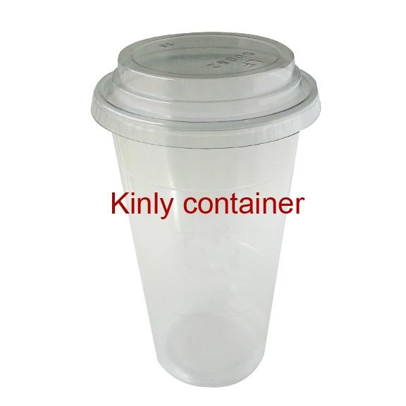 20oz Clear Plastic Cup 1