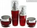 plastic acrylic lotion bottle QS2040-30