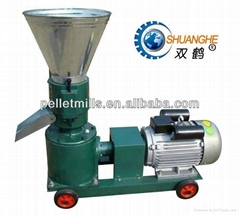 CE approved animal feed pellet mill