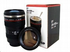 ABS+ss Canon 24-105mm noverty camera lens cup 6th Generation SL-8006