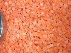 Frozen vegetable-Frozen Carrots