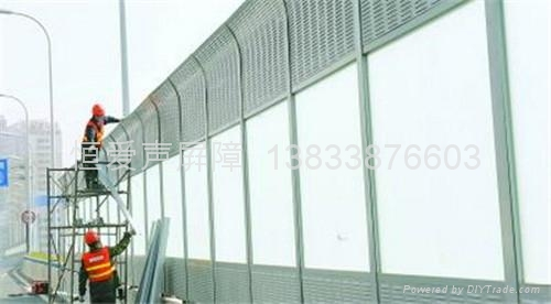 透明型隔音墙 5