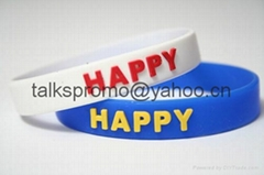 silicon wristband,siclicon bracelet,security wristband