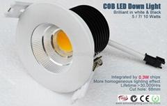 厂家批发直销COB LED筒灯7W 10W 15W 20W