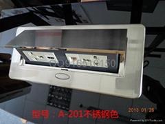 桌面辦公桌彈起式插座