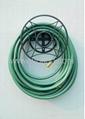 Garden hose hanger,decorative hose