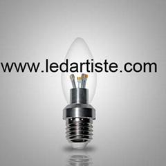 3W/E27 LED candle light