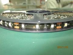 8mm SMD3528W Flex LED Strip with Crystal Epoxy Waterproof Black PCB