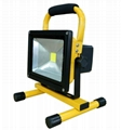 20W-LED Rechargeable Flood Light