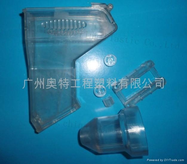 PMMA plastic white and translucent fittings for toys 1