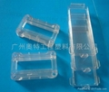 PMMA plastic white and translucent fittings for toys 2
