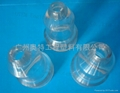 PMMA plastic white and translucent fittings for toys 3