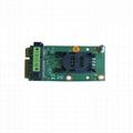 Mini PCIe Extension SIM Card Socket for 3G Modem and Mini PCI e interface  2