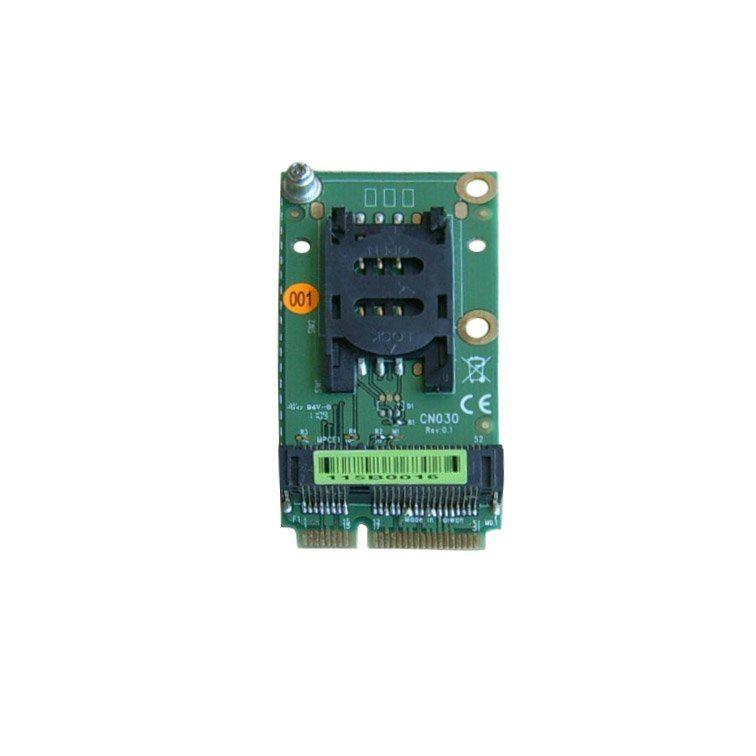 Mini PCIe Extension SIM Card Socket for 3G Modem and Mini PCI e interface  3