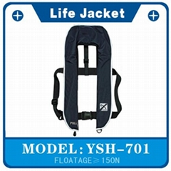 150N  Inflatable Life Jacket