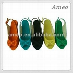 Peep Toe Wedge Shoes for women
