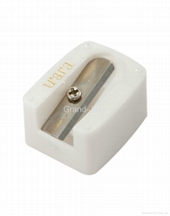 eyebrow pencil sharpener ,sharpener, plastic sharpener, comestic shrpenner