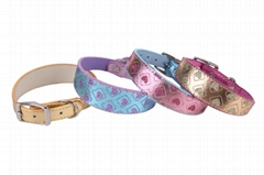 sparkling dog collar