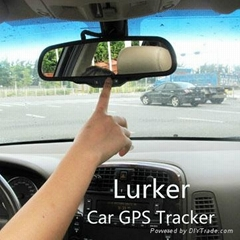 Vehicle's Rearview Mirror GPS tracker / lurker