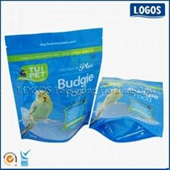 Zipper Stand Up Pet Food Bag