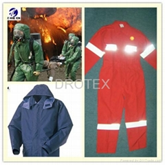 Flame and Heat Resistant Fabric for
