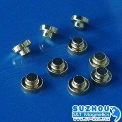 NdFeB 35H, Ni coated,permanent magnet,Cylinder,high remanence,coercive and energ