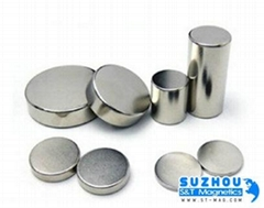 NdFeB permanent magnet with disc shape st-magnet factory produce