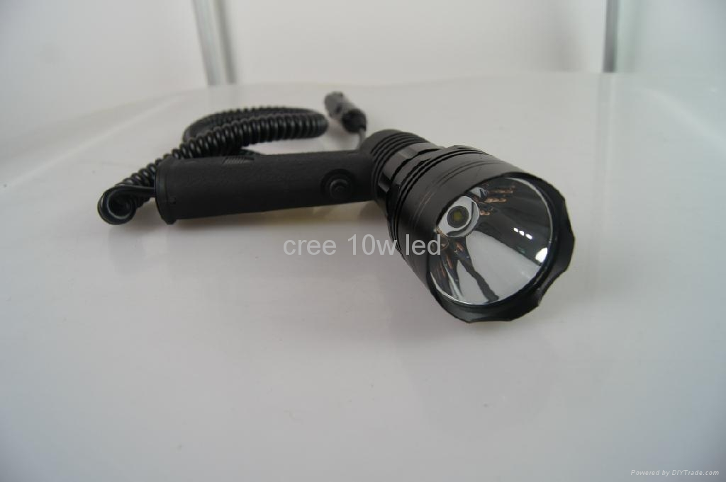 12v 10w cree t6 10w led handheld spotlight marine searchlight eagleye china manufacturer. Black Bedroom Furniture Sets. Home Design Ideas