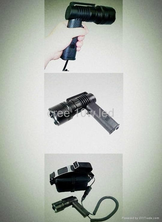 12V 10w Cree T6 10W LED handheld spotlight,marine searchlight 3