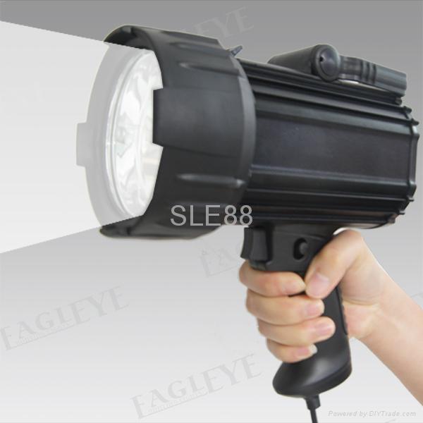 100W Halogen Aluminium 10M Candles Power Spotlight for Hunting Searchlight 1