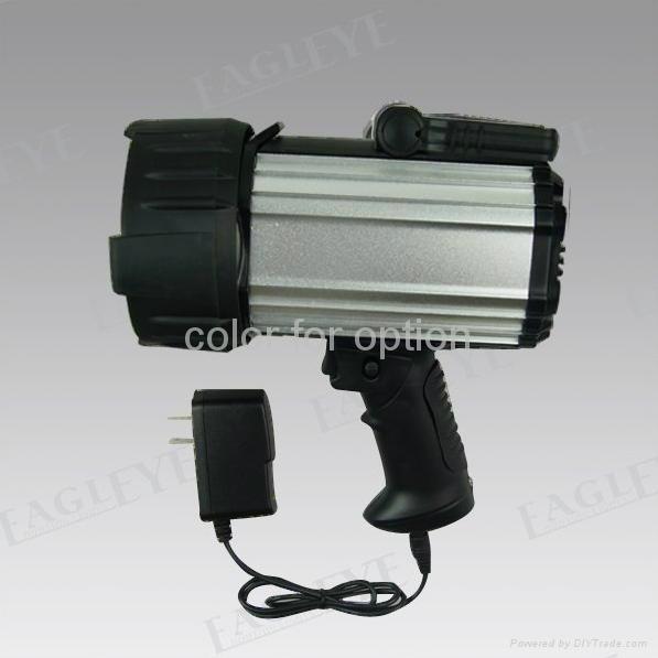 100W Halogen Aluminium 10M Candles Power Spotlight for Hunting Searchlight 2
